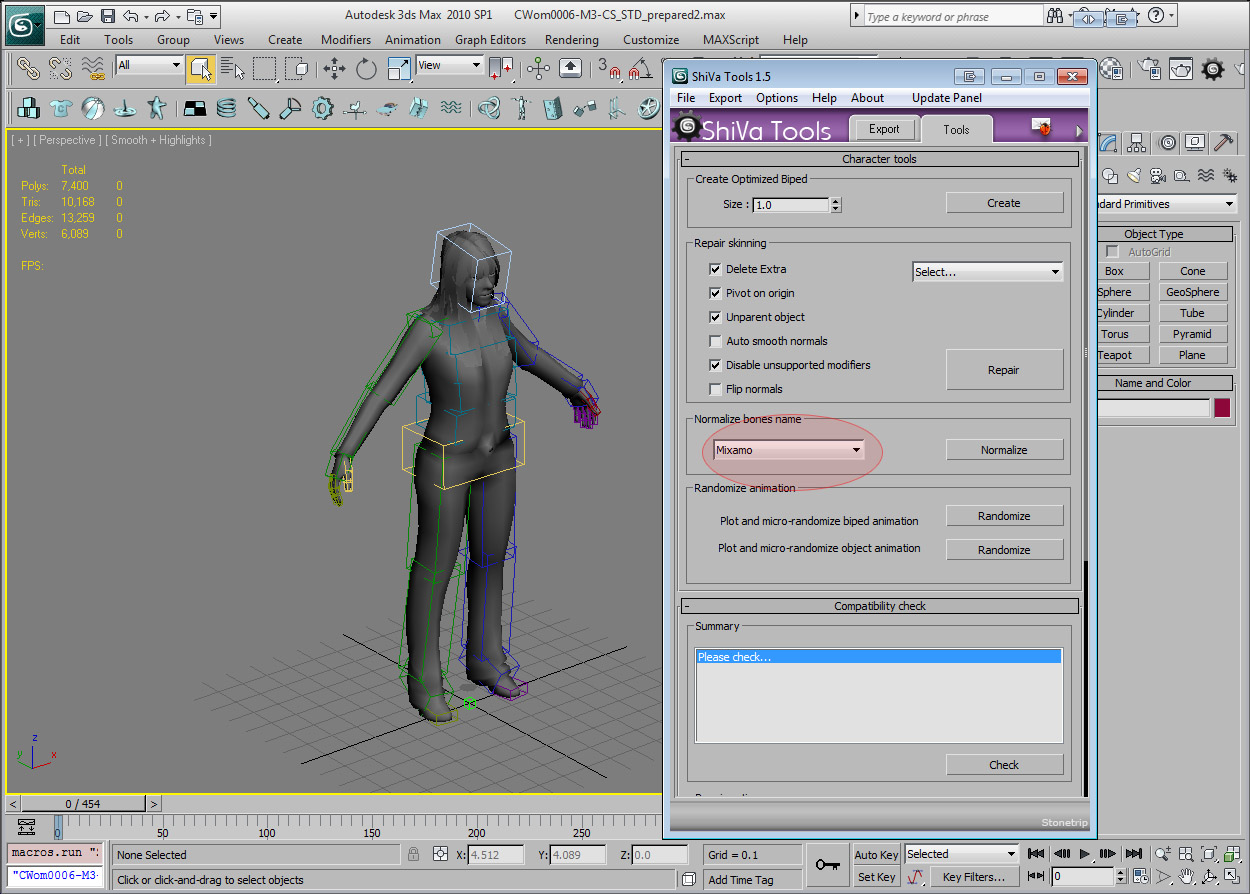 Character animation in seconds – ShiVa Engine